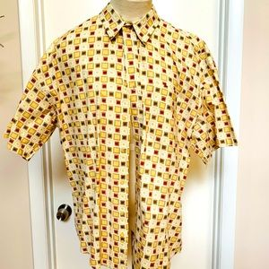 Natural Issue Vintage Short Sleeve Button Down Shi